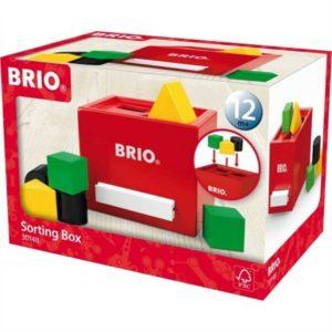 Brio szortírozós kocka