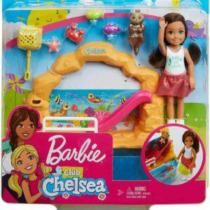 Barbie Club Chelsea baba és játékszett
