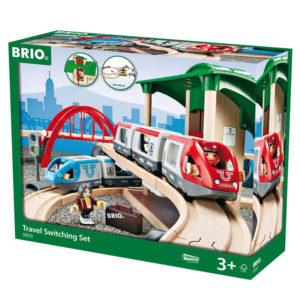 Brio Nagy személyszállító vonat szett