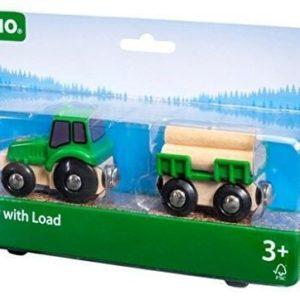 Brio Traktor utánfutóval