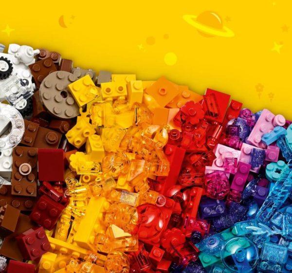 LEGO® Classic Kreatív áttesztő kockák
