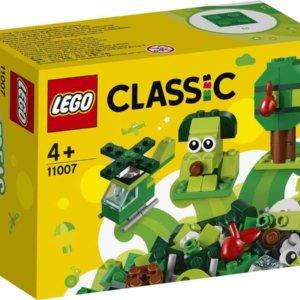 LEGO® Classic Kreatív zöld kockák