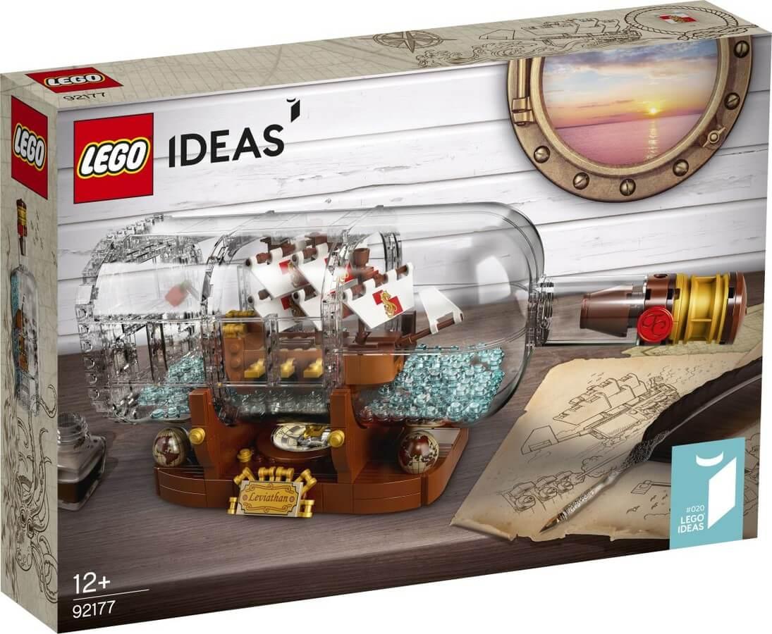 LEGO® Ideas Hajó a palackban