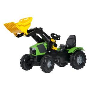 Rolly Toys Deutz-Fahr 5120 pedálos traktor homlokrakodóval