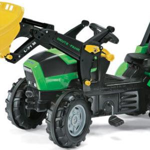 Rolly Toys Deutz-Fahr Agrotron pedálos traktor homlokrakodóval
