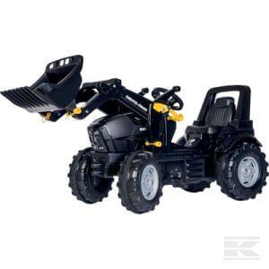 Rolly Toys Deutz-Fahr TTV Warrior pedálos traktor homlokrakodóval