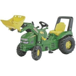 Rolly Toys John Deere farmTrac pedálos traktor homlokrakodóval