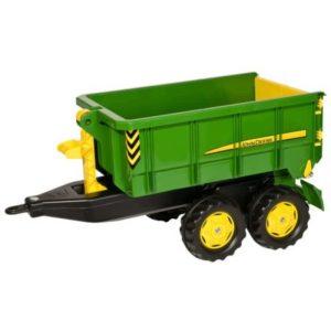 Rolly Toys John Deere kéttengelyes utánfutó