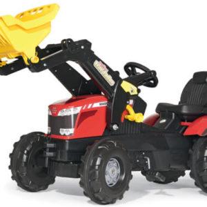 Rolly Toys Massey Fergusson 8650 pedálos traktor homlokrakodóval