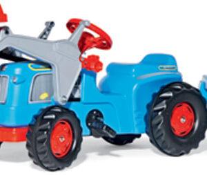 Rolly Toys Rolly Kiddy Classic pedálos traktor homlokrakodóval és pótkocsival