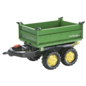 Rolly Toys rollyMega utánfutó zöld színben