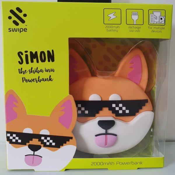 Simon a Shiba Inu Power Bank 2000 mAh